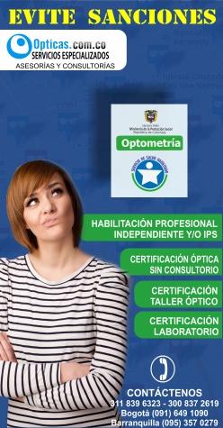 Publicidad OPTICAS.COM.CO
